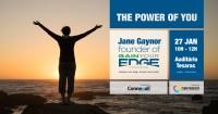 """""""The Power of You"""" – Sessão de Motivação com Speaker Internacional"""