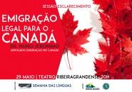 Sessão de Esclarecimento: Emigração Legal para o Canadá