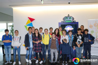 EBI de Ponta Garça em visita de estudo ao Nonagon
