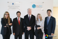 Embaixador dos EUA em Portugal em visita ao Nonagon